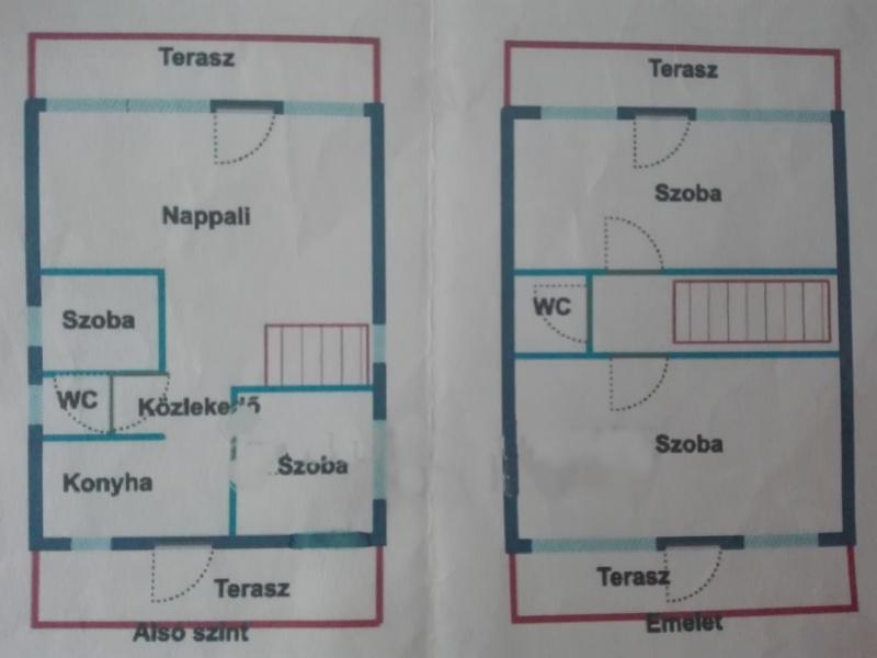 Nefelejcs utca | 80 m² m²,3 Szobák Szobák,1 FürdőszobaFürdőszoba,nyaraló,Nefelejcs utca,1081